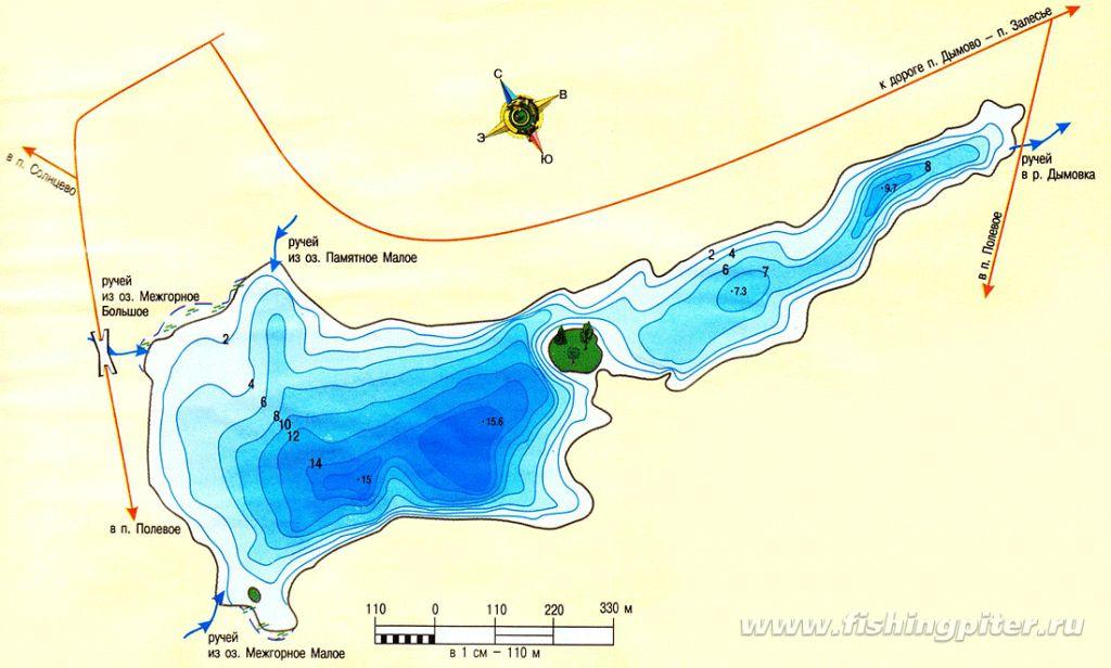 озеро длинное выборгский район рыбалка